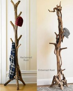 15 Cool DIY Branch Coat Racks | Home Design And Interior