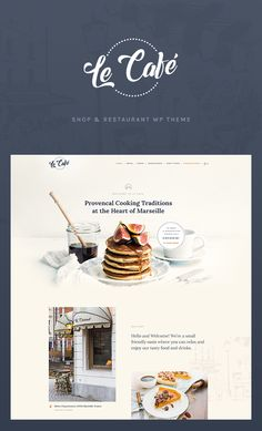 Le Cafe - Bakery & Cafe WordPress Theme #bistro #cafe #cafeteria • Available here ➝ https://themeforest.net/item/le-cafe-bakery-cafe-wordpress-theme/20583734?ref=rabosch