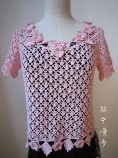 Con patrones en crochet y dos agujas varios modelos