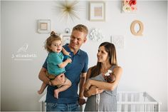 Beautiful DIY nursery in gold, cream and peach. #newbornphotos #familyphotos #newbornphotography #lifestylephotography #photographer #familyphotographer #jelizabethphotos