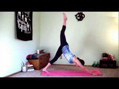 Power Yoga Workout (8 minutes) Prepare to sweat as you flow through this powerful yoga workout!