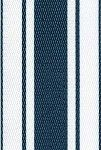 """This website has a variety of colors for the lawn chair webbing.  Lawn Chair USA.  30017 - 3"""" Lawn Chair Webbing Navy Stripe Pattern"""
