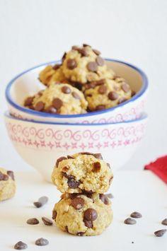 Mi dolce paradiso: Galletas con avena, chocolate y nueces