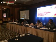 "Mr. Kishore Jain's inputs on ""Karnataka Affordable Housing Policy""  For more info: http://on.fb.me/1GHz8JG"