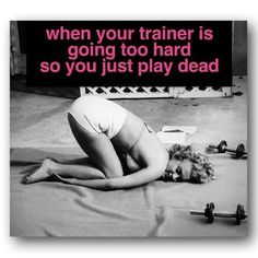 When you are dead in your workout. #fitness #meme #funny http://www.fb.com.fitwithjen1