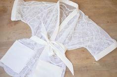 Пеньюар кимоно из кружевной ткани (Diy + выкройка) / Простые выкройки / ВТОРАЯ УЛИЦА