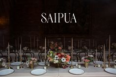 We photographed a wedding that Saipua designed at the Bowery Hotel in Manhattan.