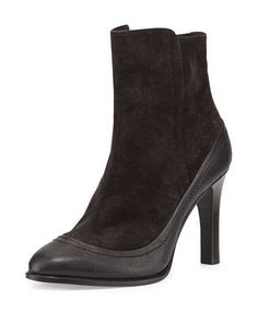 RAG & BONE Albion Suede Ankle Bootie. #ragbone #shoes #boots