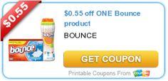 $0.55 off ONE Bounce product. Posted 06/18/2014