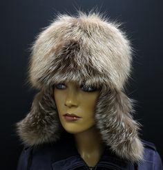 Dámská kožešinová ušanky z lišky #kuzedeluxe Winter Hats, Beanie, Fashion, Moda, Fashion Styles, Beanies, Fashion Illustrations, Beret