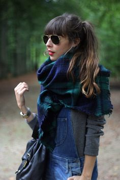 The Perfect Scarf // brunetteblogging.com