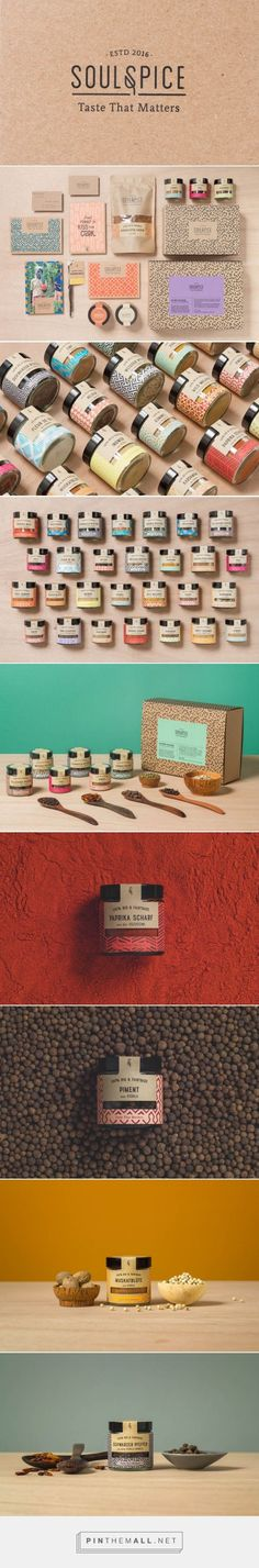 Soul Spice Brand Spice Branding and Packaging by Studio Grau | Fivestar Branding Agency – Design and Branding Agency & Curated Inspiration Gallery: