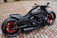 """Harley Davidson V Rod """"Vermelho"""" por Fredy - Bike's - Motos Harley Davidson Night Rod, Harley Night Rod, Harley V Rod, Harley Davidson Chopper, Harley Bikes, Harley Davidson Motorcycles, Harley Gear, Bobber Motorcycle, Cool Motorcycles"""