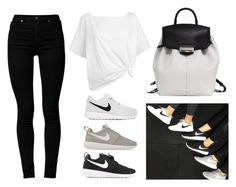 Nike Roshes by baludna on Polyvore featuring polyvore, fashion, style, Red Herring, Cheap Monday, NIKE and Alexander Wang