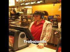 Trabajando- Spanish Present Progressive - YouTube