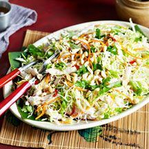 Weight Watchers recipe - Vietnamese chicken salad, 6pts p/s