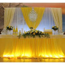 Related image Diy Wedding Backdrop, Wedding Decorations On A Budget, Table Decorations, Wedding Ideas, Head Table Decor, Wall Decor, Wall Drapes, Bridal Table, Ideas Para Fiestas
