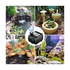 800 Gph Submersible Inline Water Pump For Pool Pond Fountain Aquarium Tank Fish Fine Quality Pumps (water) Pet Supplies