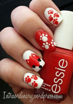 Red fox nails