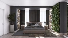 living-wall-bonzai-tree-charcoal-undertstated-bedroom