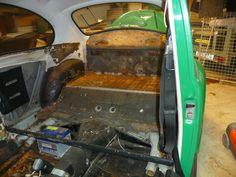 Restore inside budy beatle 1968