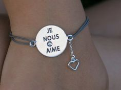 Bracelets : Bracelet Je Nous Aime