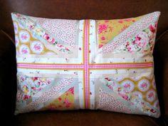 Lacewings union jack handmade cushion