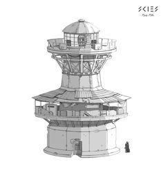 ArtStation - lighthouse, Sergey Shilkin