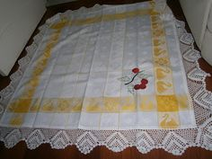 Avó Rosário - Venda de produtos em crochet e outros: Toalhas de chá :)