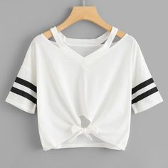 £1.96 GBP - Women Ladies Short T-Shirt Short Sleeve Round Neck Casual Tops Blouse #ebay #Fashion