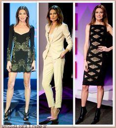 Nieves Álvarez con tres diseños de Zuhair Murad para el programa Solo Moda