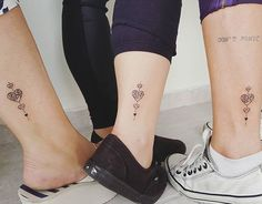 Resultado de imagem para tattoo mae e filha separada