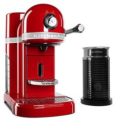 Best Espresso Machine Under 500 - KitchenAid KES0504ER Nespresso Bundle Cuisine Espresso, Espresso Kitchen, Espresso Drinks, Espresso Cups, Espresso Coffee, Coffee Cups, Coffee Coffee, Coffee Break, Morning Coffee