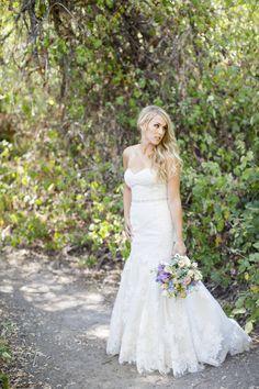 Beautiful backyard style wedding
