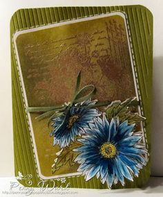 Penny Ward INK uses Penny Black Daisies