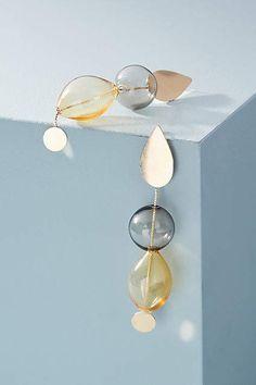 Anthropologie Hollow Glass Drop Earrings #affiliate