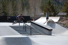 #Breckenridge #Skateboarding #tommy.skates.colorado #coreythehomie #cahiill #benhomes #Colorado Springs