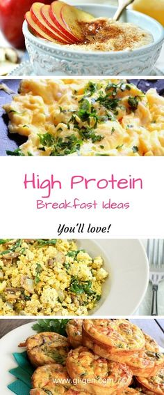 My favourite high protein breakfast ideas for sustainable weight loss and fat loss. Perfect for anyone seeking low carb diet advice.