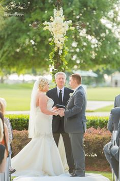 Omni Orlando Resort at ChampionsGate Wedding, Leah Langley Photography, Fuchsia and Navy Wedding Ideas, White Floral, Floral by Lee James Floral Designs