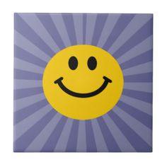 Happy Smiley Face Tiles
