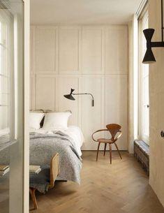 Home Interior Living Room .Home Interior Living Room Parisian Bedroom, Parisian Apartment, Bright Apartment, Apartment Layout, Modern Bedroom, Apartment Living, Home Interior, Interior Architecture, Interior Colors