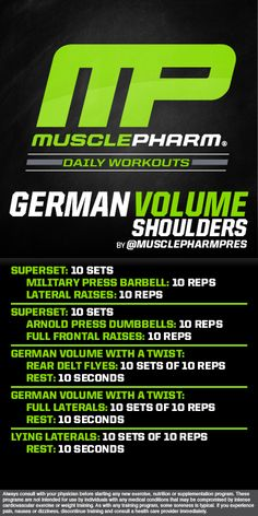 Muscle Building Tips. Gain More Mass With These Weight Training Tips! It can be fun to lift weights if you do it safely and correctly. You can enjoy yourself and see the progress of an effective workout routine. Chest Workouts, Fit Board Workouts, Gym Workouts, Arnold Back Workout, Musclepharm Workouts, German Volume Training, Fitness Studio Training, Muscle Pharm, Muscle Building Tips