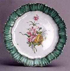 Meillonnas, Présentoir « au plissé vert », Musée de Brou