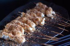 Recipe: Coconut Chicken Satay cooking