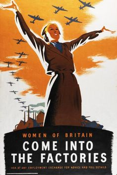 WWII recruitment poster