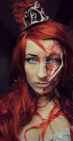 make-up by joyce..red riding hood