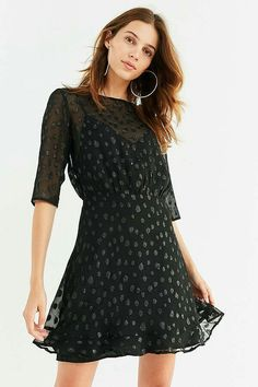 ba837fc4 Shop ISLA The Resistance Sheer Polka Dot Dress at Urban Outfitters today.  We carry all the latest styles, colors and brands for you to choose from  right ...