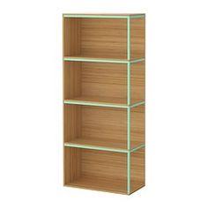 IKEA PS 2014 Comb rangement avec plateaux - bambou/vert clair - IKEA