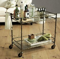 Catalog Envy Inspiration Piece - Jill Bar Cart $349 - Ballard Designs