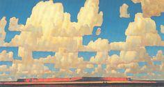 Maynard Dixon, Cloud World, c. 1925